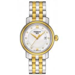 Buy Women's Tissot Watch Bridgeport T0970102211600 Diamonds Mother of Pearl