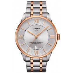 Buy Men's Tissot Watch Chemin Des Tourelles Powermatic 80 Helvetic Pride T0994072203801