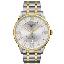 Buy Men's Tissot Watch Chemin Des Tourelles Powermatic 80 COSC T0994082203800