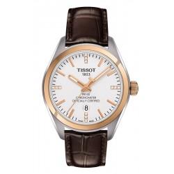 Buy Women's Tissot Watch PR 100 COSC T1012512603600 Diamonds Quartz