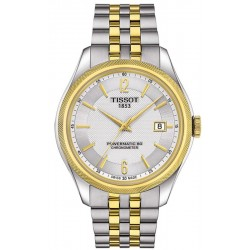 Buy Men's Tissot Watch Ballade Powermatic 80 COSC T1084082203700